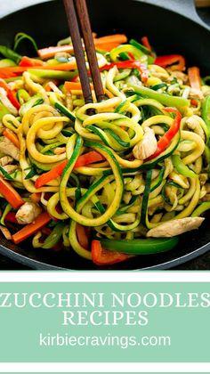 Bariatric Recipes, Healthy Eating Recipes, Low Carb Recipes, Diet Recipes, Recipies, Cooking Recipes, Veggie Noodles, Zucchini Noodles, Zucchini Noodle Recipes
