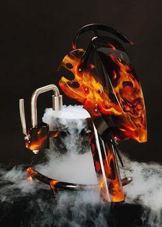 Spectacular Liquid Nitrogen Ice Cream Machine | psssst.net