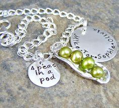 peas in pod mothers bracelet