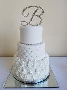 Nicole and Eric Wedding Cake