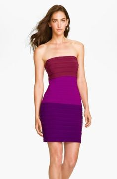 Max and Cleo By BCBG 'Suzy' strapless shutter pleat jersey sheath dress8 $178