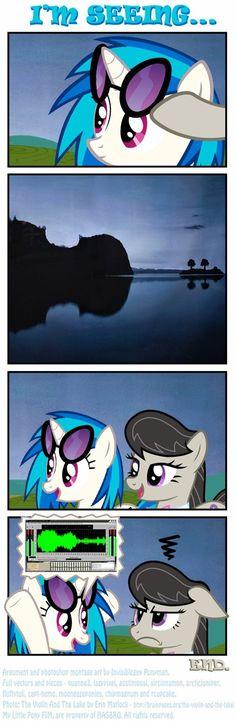 My Little Brony - page 3 Mlp Memes, Vinyl Scratch, Mlp Comics, Fantasy Beasts, My Little Pony Drawing, My Little Pony Pictures, Mlp Pony, Cute Little Animals, My Little Pony Friendship