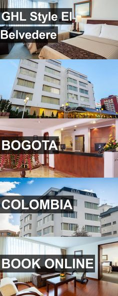 Hotel GHL Style El Belvedere in Bogota, Colombia. For more information, photos, reviews and best prices please follow the link. #Colombia #Bogota #travel #vacation #hotel