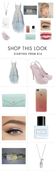 """Maya 2"" by eliana-zennaro on Polyvore featuring moda, Notte by Marchesa, Gucci, Tory Burch, Kate Spade, Carmex, Marc Jacobs e Lagos"