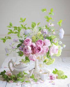 foglie artificiali Rose Dainty ♡♡ Nuziale Capelli Corona di fiori