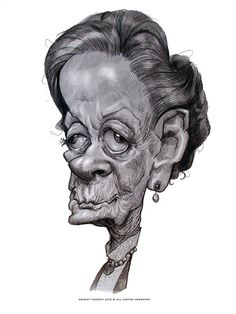 Maggie Smith by Ernesto Priego