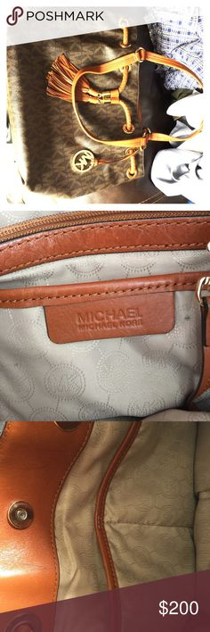 Micheal Kors handbag 9/10 condition nothing wrong with it Michael Kors Bags Shoulder Bags