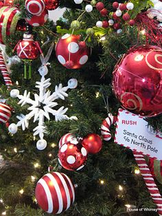 Whoville tree decorations