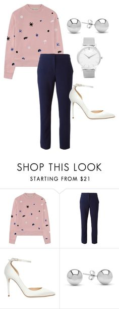 """""""Untitled #1"""" by jsanders737 ❤ liked on Polyvore featuring Être Cécile, Diane Von Furstenberg, Jimmy Choo, Jewelonfire and Larsson & Jennings"""