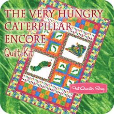 The very hungry caterpillar fabric!