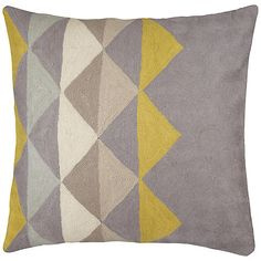 Buy John Lewis Pyramid Crewel Cushion online at John Lewis