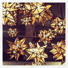 Moravian stars are as much a symbol of the holiday as they are of the city itself - Bethlehem, PA
