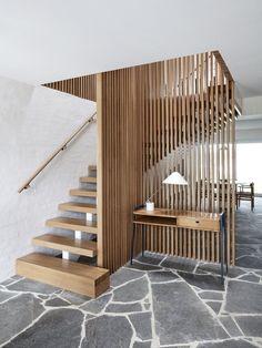 Portsea Beach House by Studio Esteta Portsea Beach House by Stud. Beach House Furniture, Beach House Decor, Beach Houses, Home Decor, Modern Staircase, Staircase Design, Interior Stairs, Australian Homes, New Homes