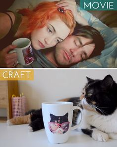 Movie Inspired Crafts: Eternal Sunshine of the Spotless Mind