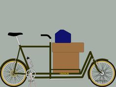 Creative use of BikeCAD to model a cargo bike.
