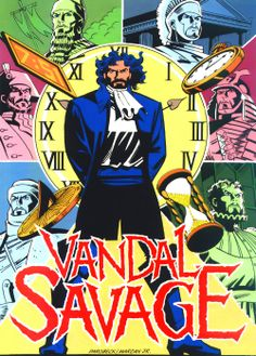 Many villains in DC Comic have wreaked havoc on the world, but few for as many years as Vandal Savage. Comic Book Characters, Comic Character, Comic Books Art, Green Lantern Villains, Vandal Savage, Superman Comic, Batman, Best Villains, Lego Super Heroes
