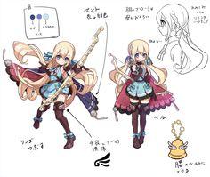 Female Character Design, Character Design References, Character Design Inspiration, Game Character, Character Concept, Mabuchi Kou, Christmas Drawing, Cg Art, Anime Artwork