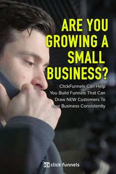 Let Me Show You Why Tens Of Thousands Of EntrepreneursJust Like You Are CurrentlyAbandoning Their WebsitesFor Clickfunnels... Yanni Is Growing His Small Business, JUST LIKE YOU!Listen to his story now, then get yourfree trial accountto ClickFunnels Content Marketing Strategy, Sales And Marketing, Inbound Marketing, Internet Marketing, Online Marketing, Social Media Marketing, Marketing Ideas, Way To Make Money, Make Money Online