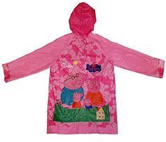 Children Raincoat, Peppa Pig Raincoat, Waterproof.(One Size)