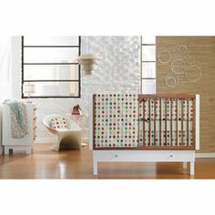 We decided not to decorate the new baby's room until he/she is born, but I'm still looking for inspiration!!  Loving the modern stuff. :)