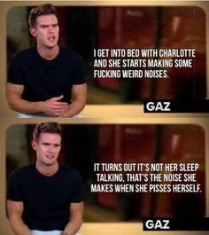 Gary Charlotte Geordie, Charlotte Crosby, Geordie Shore Quotes, Just For Gags, Reality Tv Shows, Guilty Pleasure, Popular Culture, Best Tv, Mtv