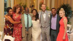 Tatyana Ali is a beaming bride!
