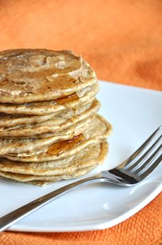 vegan carrot cake pancakes | my little celebration