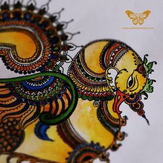 The Studio of HastaVarna Studio, browse the whole collections here. And buy the great handmade designer wears from HastaVarna studio. Wooden Painting, Mural Painting, Mural Art, Fabric Painting, Murals, Madhubani Art, Madhubani Painting, Traditional Paintings, Modern Paintings