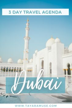 Check out these hidden gems in Dubai + the perfect 3 day agenda to visiting everything in Dubai. #mydubai #dubaiattractions #bestthingstododubai #dubaiitinerary #dubaitravelguide #uae | dubai | best things to do in dubai | best places in dubai | what to do in dubai | what to visit in dubai |