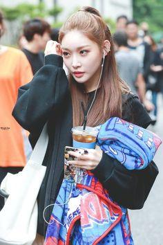 """will be there ☾ do not edit. South Korean Girls, Korean Girl Groups, Kim Chanmi, Chung Ah, Kim Chungha, Fandom, Produce 101, Korean Makeup, Asian Fashion"