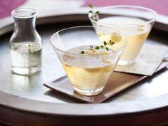 Apple and Thyme Martini recipe from Giada De Laurentiis via Food Network