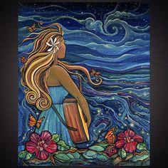 Na Pulelehua-Giclee – Colleen Wilcox Art