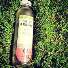 Enjoying some Daily Greens on the Greens