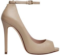 Nude leather pumps from Elie Saab Resort 2013 collection