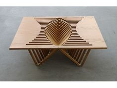 Rising table,  Robert van Embricqs. Cool table.