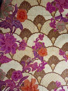 """superbe tissu """"Valencay"""" collection Pierre Frey-Patifet : Tissus à thème par bon-debarras"""