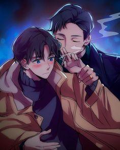 Hyperventilation It's getting hot in here xd info/credit @ •anime/manhwa: hyperventilation