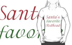 SANTA'S FAVORITE REDHEAD by Divertions