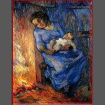 O homem está no mar (após o Demont-Bretão). Lubrifique nas canvas, 66 x 51 cm. Colecção privada. F 644, JH 1805      Vincent Willem Van Gogh (30 de março de 1853 - 29 de julho de 1890) era um artista holandês do Cargo-Impressionista. Algumas de suas pinturas estão agora entre o mundo o mais conhecido, as obras de arte as mais populares e as mais caras.