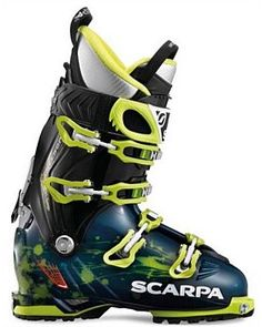 The Freedom SL Freeride ski boot from Scarpa combines high-performance, touring compatibility, and a category-leading cuff range (27 degrees), for a truly multipurpose all mountain ski boot. Buy Now http://www.outsidesports.co.nz/gear/ski-accessories/backcountry.htm#catpage=2