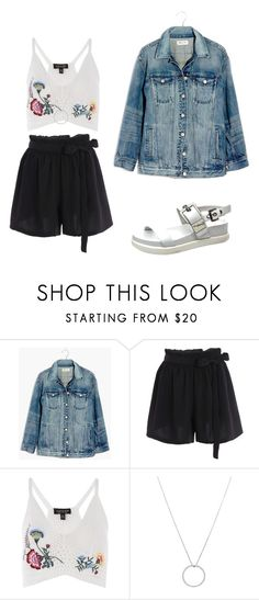 """""""for sheidlina 4"""" by dianacrystal on Polyvore featuring Madewell, Topshop and Roberto Coin"""
