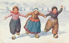volendammer kinderen 1911 #NoordHolland #Volendam