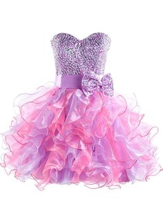 Cute Purple Sweetheart Short Homecoming Dress Latest Bowknot Crystal Ball Gown Cocktail Dresses