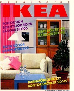 Coperta Catalogului Ikea 1982 Catalogue Catalog Cover Retro Design 1980s Aesthetics