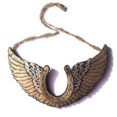 Winged Horseshoe Necklace ... but i want the design for a tattoo