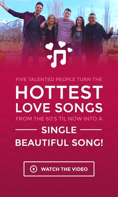 Five Talented People Turn The Hottest Love Songs From 60s Til Now Into A Single