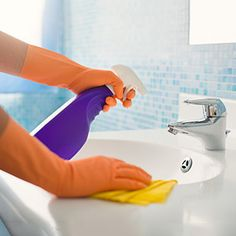 Is Your Bathroom Making You Sick? - Linda Cobb, aka the Queen of Clean, provides info on homemade cleaning solutions for specific bathroom areas to rid them of germs, mold and bacteria.  Grandparents.com