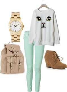 """Cats. I like Cats."" by ashamb on Polyvore"