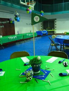 Golf themed 75th birthday party
