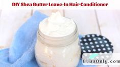 DIY Shea Butter leave in hair conditioner recipe. It moisturizes your hair and reduce dryness,frizzy,hair loss. It also promotes hair growth. Learn how to make it yourself Homemade Conditioner, Leave In Conditioner, Hair Conditioner, Homemade Shampoo, Aloe Vera Hair Mask, Aloe Vera For Hair, Aloe Vera Gel, Exfoliating Face Scrub, Best Hair Oil